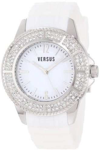 Versus - 3C6370 0000 - Montre Femme - Quartz - Analogique - Bracelet Polyuréthane Blanc
