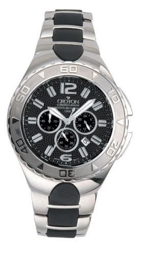 CROTON MENS CHRONOMASTER SUPER C COLLECTION w/ CARBON FIBRE DIAL - Buy CROTON MENS CHRONOMASTER SUPER C COLLECTION w/ CARBON FIBRE DIAL - Purchase CROTON MENS CHRONOMASTER SUPER C COLLECTION w/ CARBON FIBRE DIAL (Croton, Jewelry, Categories, Watches, Men's Watches, Fashion Watches)