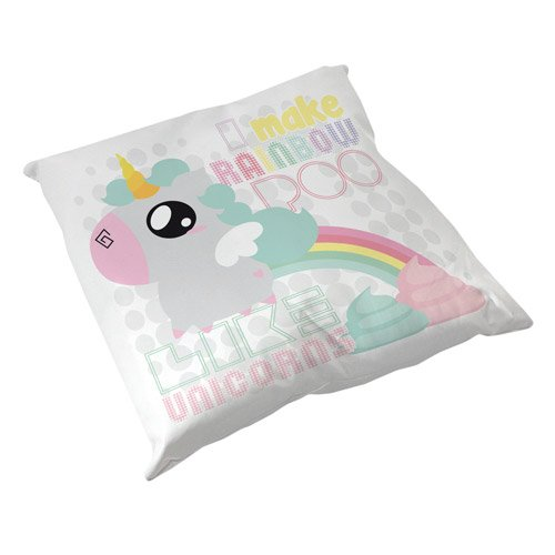 Coussin-Dcoration-Licorne-I-make-Rainbow-Poo-like-Unicorns-Arc-en-ciel-Caca-Chibi-Kawaii-by-Fluffy-Chamalow-Fabriqu-en-France-Chamalow-Shop