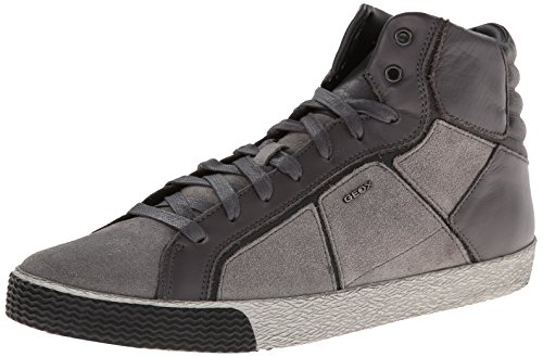 Geox - Sneaker U Smart, Uomo, Grigio (Grau - Gris (Stone)), 43