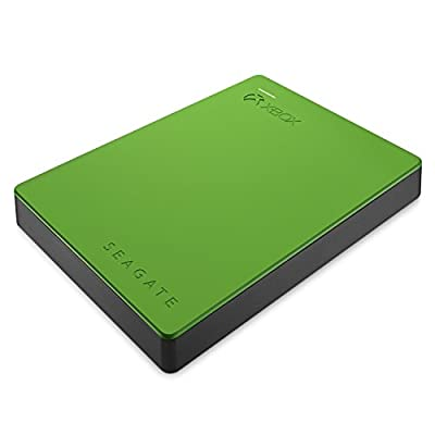 Seagate Game Drive STEA2000403 2TB Portable Hard Drive for Xbox One (Green)