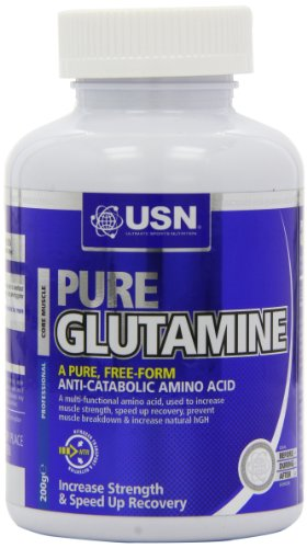 USN L-Glutamine 200 g Muscle Strength and Recovery Powder