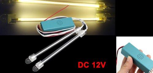 Auto Jaune CCFL Tube Intérieur Neon Fluorescent Phares tube Décoration DC 12V