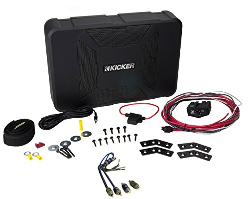"Kicker 11Hs8 8"" 150W Hideaway Car Audio Powered Subwoofer Sub Enclosure+Adapter"