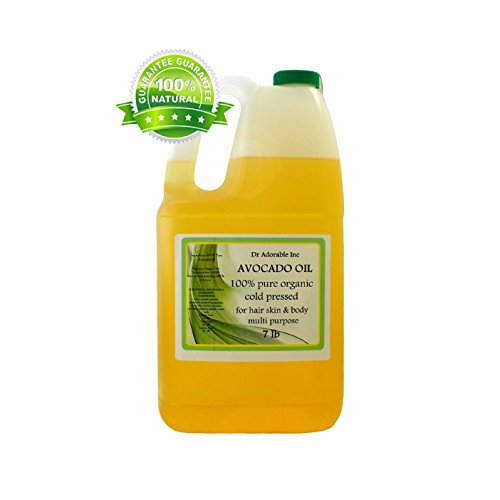 Avocado Oil Organic Pure Cold Pressed 128 Fl. Oz/1 Gallon/7 Lb