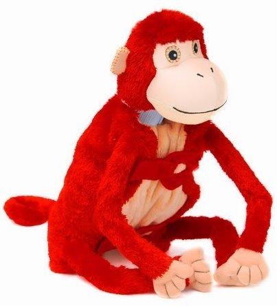 Baby Mashaka the Monkey Blankie Babies
