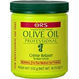 Ors Olive Oil Creme Relaxer Normal 18.75oz Jar (2 Pack) (Color: cream, Tamaño: 18.75 Ounce (2 Pack))