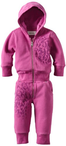 Diesel Baby-Girls Infant Janetb Overalls, Pink, 12 Months