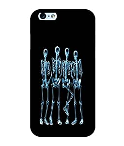 printtech Funny Xray Skeleton Back Case Cover for Apple iPhone 6S