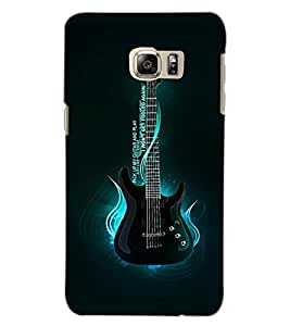 SAMSUNG GALAXY S6 EDGE PLUS GUITAR Back Cover by PRINTSWAG