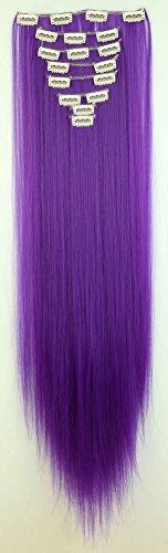 s-noiliter-extensions-de-cheveux-tout-droit-hair-couleur-violet-fonce-extensions-a-clip-longueur-66-