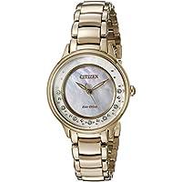 Citizen L Circle of Time Rose Goldtone Bracelet Women's Watch