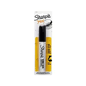 Sharpie King Size Permanent Marker, 1 Black Marker (15101PP)