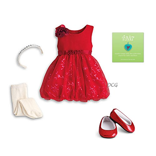 American Girl Sparkle Party Dress for Dolls- MY AG 2013 (Doll Not Included)