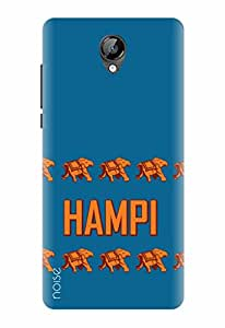 Noise Designer Printed Case / Cover for Micromax Bolt D320 / Quotes/Messages / Hampi