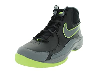 Nike Men's Overplay VII Basketball Shoe,Black/Cool Grey,9 D US