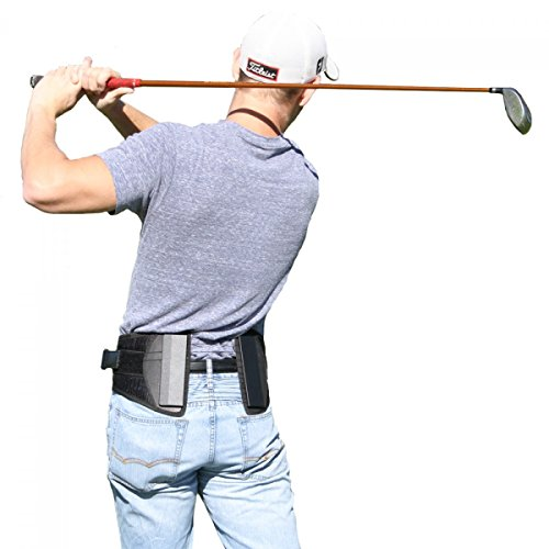 Golf Back Brace for Tennis & Golfing Low Back Pain-L (Profile Golf compare prices)