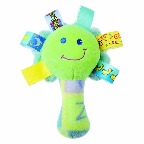 Taggies SeeMe Rattle, Green