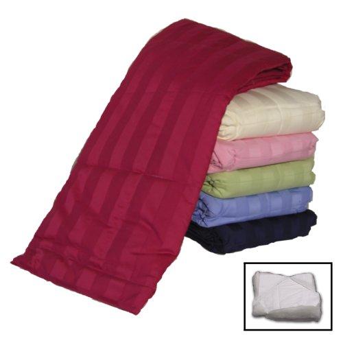 Dark Pink 300 Thread Count Cottonloft All Cotton Throw front-445283