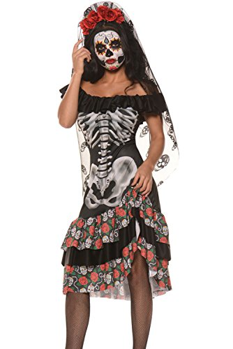 Women (Day Of Dead Spanish Lady Costumes)