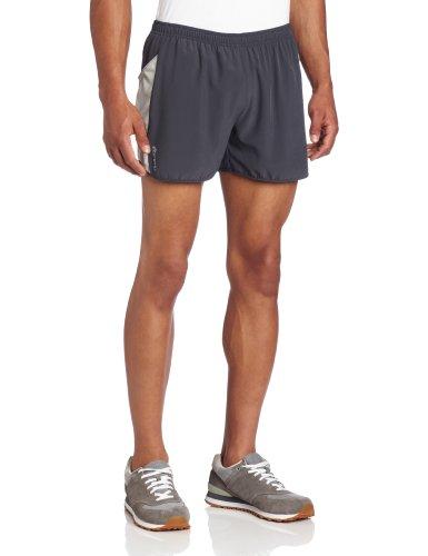 SportHill SportHill Men's Marathon Shorts, Lavarock/Vapor, Large