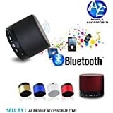 AEMA(TM) Portable Bluetooth S10 Mini Wireless Speaker With MIC FM Memory Card Slot USB Slot (COLOUR MAY VARY)