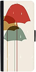 Snoogg Abstract Rainy Season Backgrounddesigner Protective Flip Case Cover Fo...