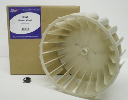 Admiral Dryer Blower Wheel 31001043