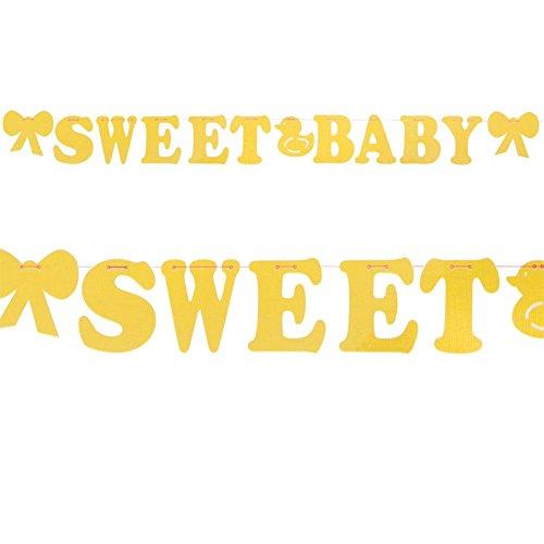 "Felt ""Sweet Baby"" Banner"