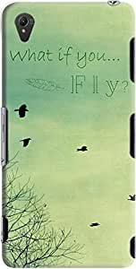DailyObjects What If You Fly Case For Sony Xperia Z3