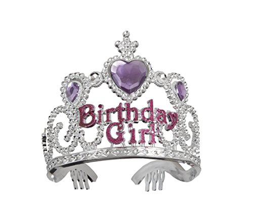 Plastic Birthday Girl Tiara - 1
