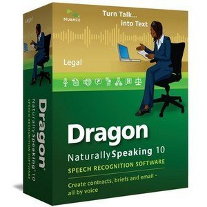 Nuance Dragon Naturallyspeaking Legal Version 10 Speech Recognition Software With Microphone