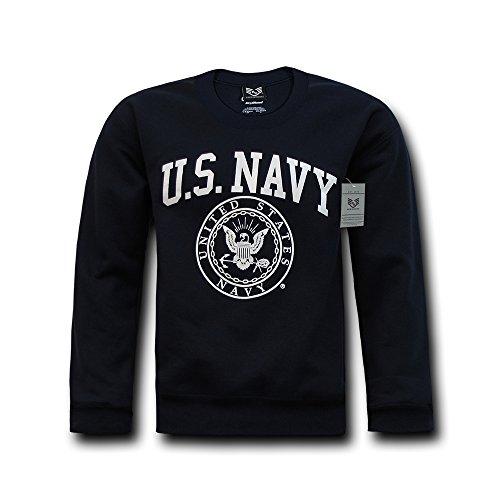 Rapiddominance Navy Crewneck Sweatshirt, Navy, X-Large (United States Navy Sweatshirt compare prices)