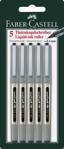 faber-castell-148297-tintenroller-uni-ball-eye-ub-157-starke-04-mm-5er-packung-schwarz