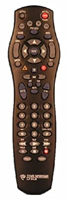 TIME-WARNER CABLE ATLAS 4-DEVICE UNIVERSAL HD REMOTE CONTROL for TV / Cable / VCR / Audio