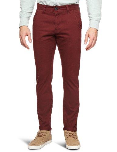 Bellfield MTRS-11178W2 Slim Men's Trousers Wine W28 INxL32 IN