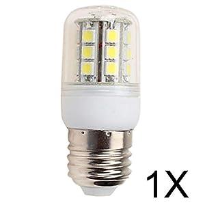 ELINKUME 1XE27 4W LED Corn light/bulb/lamp 320-380LM SMD 27*5050 led Corn bulbs AC220-240V Warm White by ELINKUME