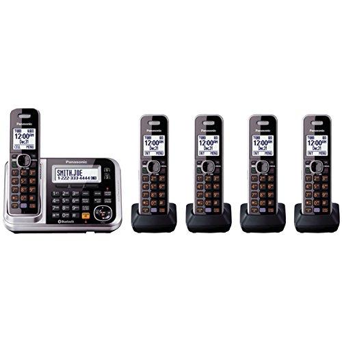 Panasonic-KX-TG7875S-Link2Cell-Bluetooth-Enabled-Phone-BlackSilver