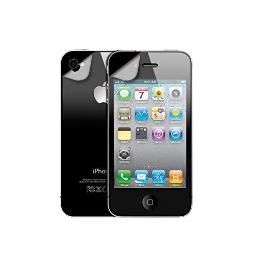 xqisit Xqisit iPhone4/4S Display u Rückseite Schutzfolie Apple iPhone 4, iPhone 4S