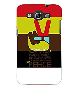 PrintDhaba Quote D-3925 Back Case Cover for SAMSUNG GALAXY WIN i8552 (Multi-Coloured)