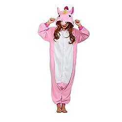 SZTARA Costume Fancy Dress Deluxe Polar Fleece Onesie Unisex Cosplay Pyjamas Kigurumi
