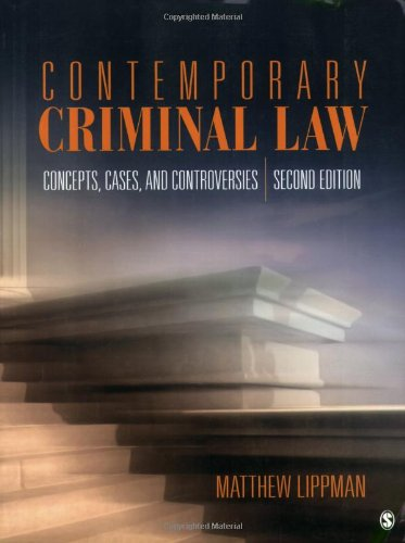 Contemporary Criminal Law: Concepts, Cases, and...
