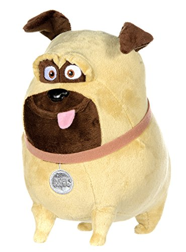 Pets - Vita da Animali (The Secret Life of Pets) - Mel, cane marrone chiaro 22cm - Qualità super soft