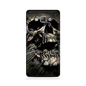Mobicture Skull Abstract Premium Printed Case For Samsung On 7