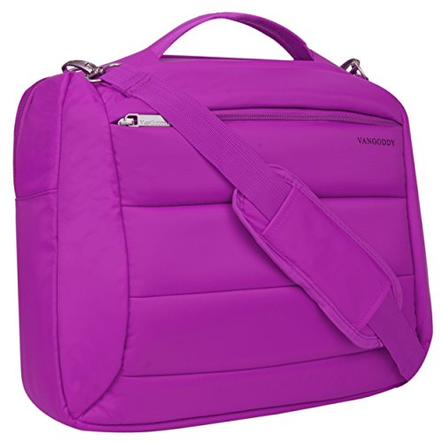 Click to buy VanGoddy 2 in 1 Purple Backpack + Messenger Bag for Fujitsu Lifebook / Stylistic - From only $34.99