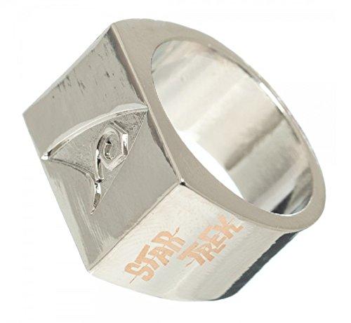 Medium Star Trek Engineering Logo Debossed Ring 8 (Star Trek Ring compare prices)