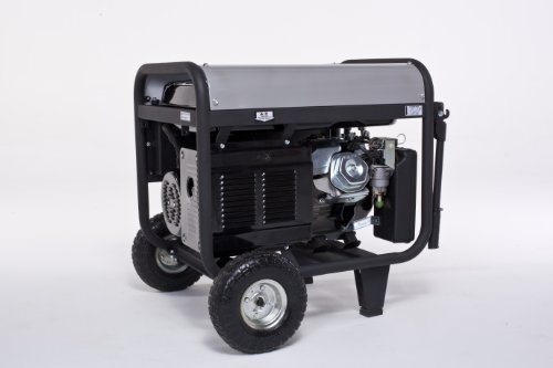 Lifan Platinum Series LF7000iPL 7000 Watt Comercial/Contractor 13 HP 389cc OHV Gas Powered Portable Generator with Recoil Start and Wheel Kit and Never-Flat Foam Filled Tires