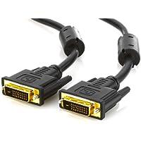 deleyCON 1m DVI zu DVI Kabel DUAL LINK DVI-D 24+1 [ vergoldete Kontakte ]