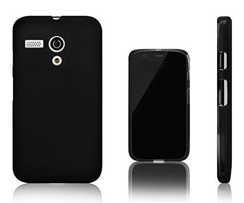 Vapour Flexibel TPU Gel Schutzhülle Für Motorola Moto G-Schwarz