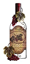 Wine Bottle Art Vineyard Kitchen Wall…